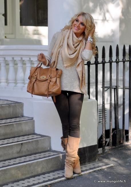 Style Inspiration / Sparkly Fall Layers.
