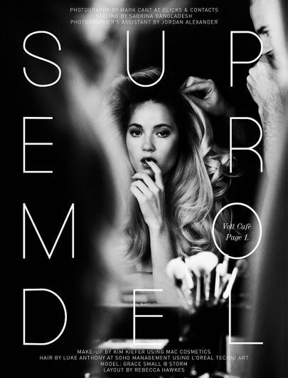 Supermodel | Volt Café | by Volt Magazine — Designspiration