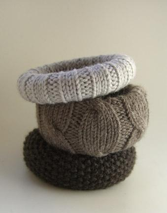 Sweet Sweet Accessories / Ravelry: leftcoastknits' knitted bracelets