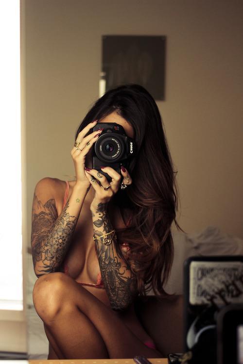 Tattoos / Ink'd Girls — Designspiration