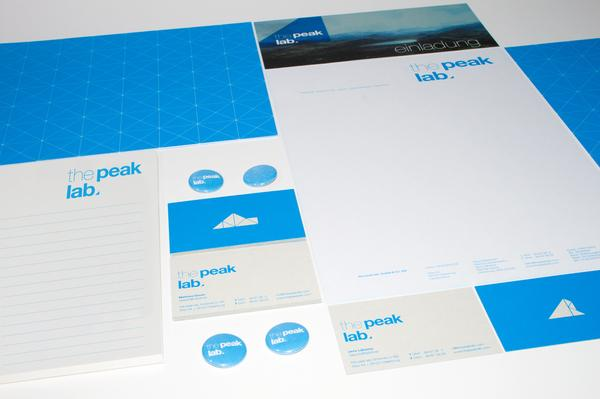 the peak lab. Corporate Identity on