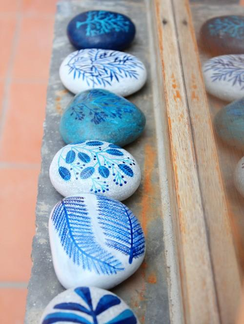 Things I'd Like to Try to Work On / painted stones