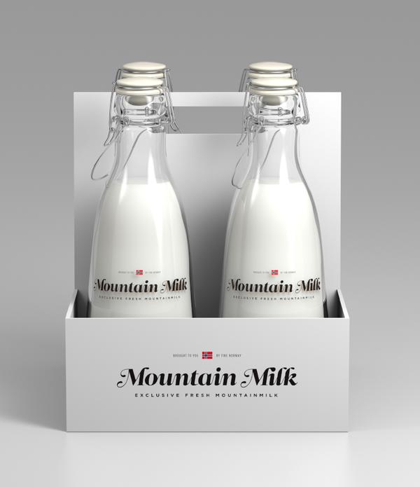 Tine Melk - Mountain Milk on