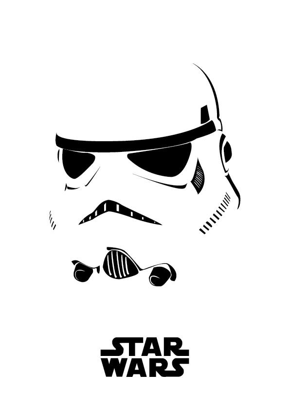 Tribute to Star Wars Character on