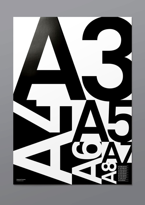 Typographic Posters / A Poster — Designspiration