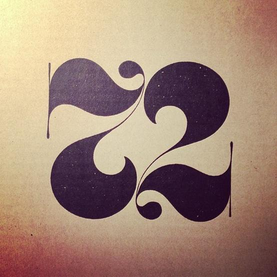 Typography / 72 Ambigram