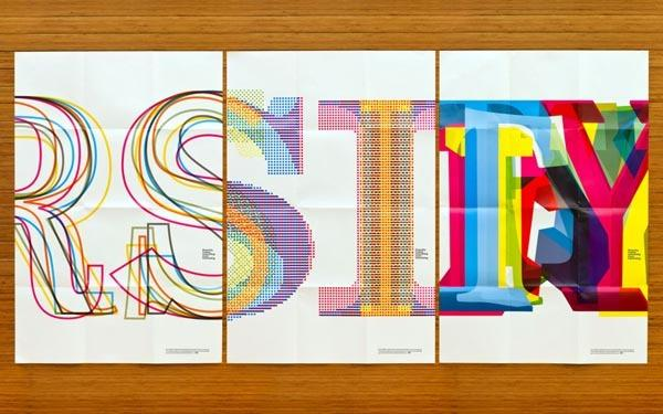 Typography / Bill Bernbach Typographic Poster Series — Designspiration