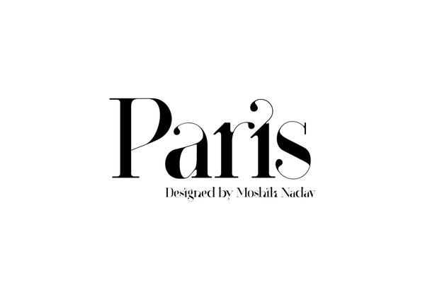 Typography / Paris Typeface New Typeface by Moshik Nadav Typography — Designspiration