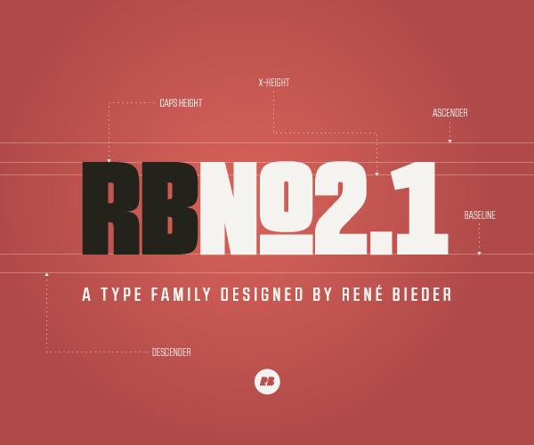 Typography / RBNo2.1 on