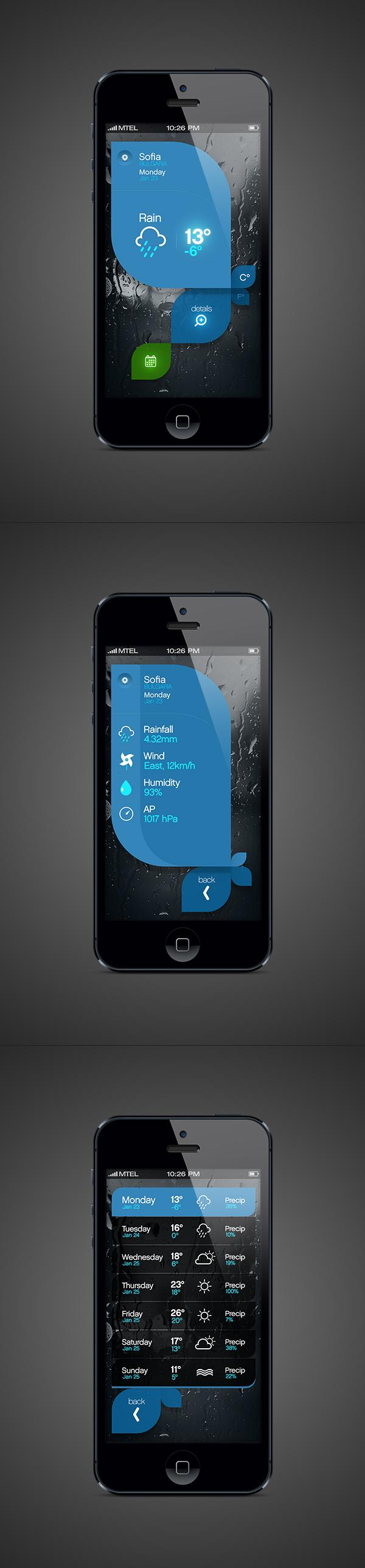 Weather App on