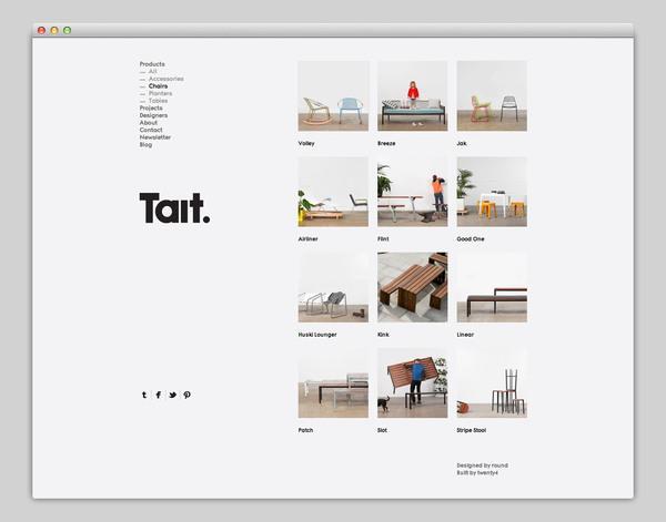 Web / Tait — Designspiration