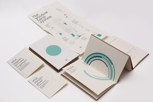 Window Farms: Information Design Book on