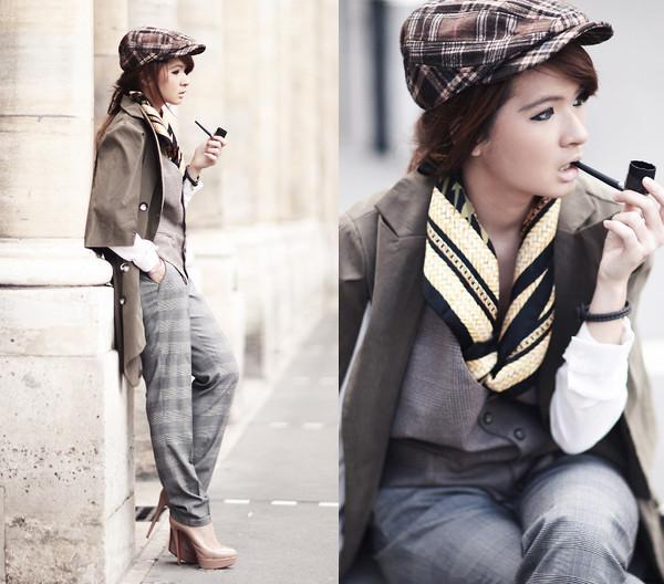 Women / lookbookdotnu: My name is Sherlock Holmes (by... EyesFaveCandy — Designspiration