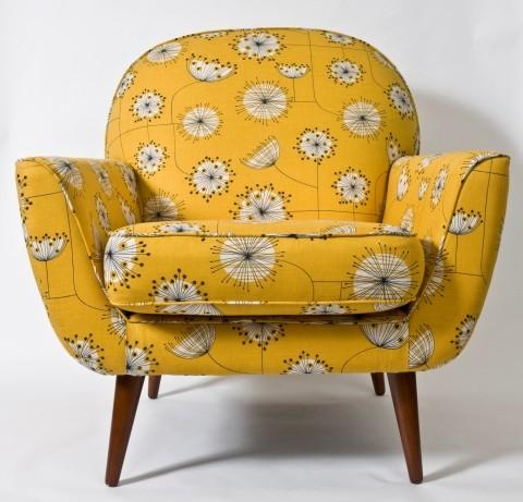 Yellow & Grey / I love the vintage feel.....really like the shape of this.