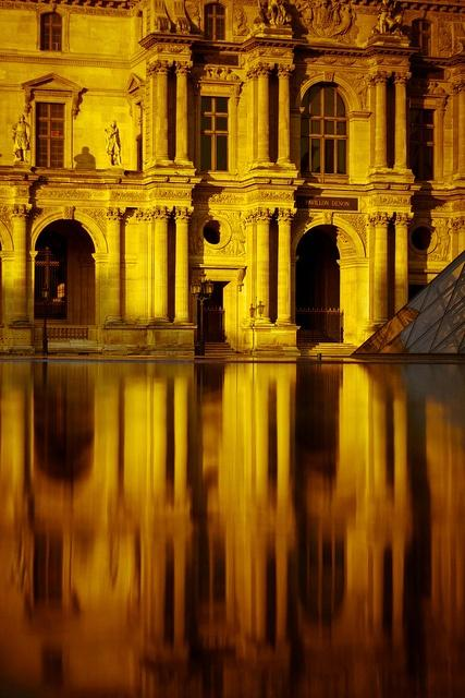 YELLOW / Musée du Louvre, Paris by Michael How.