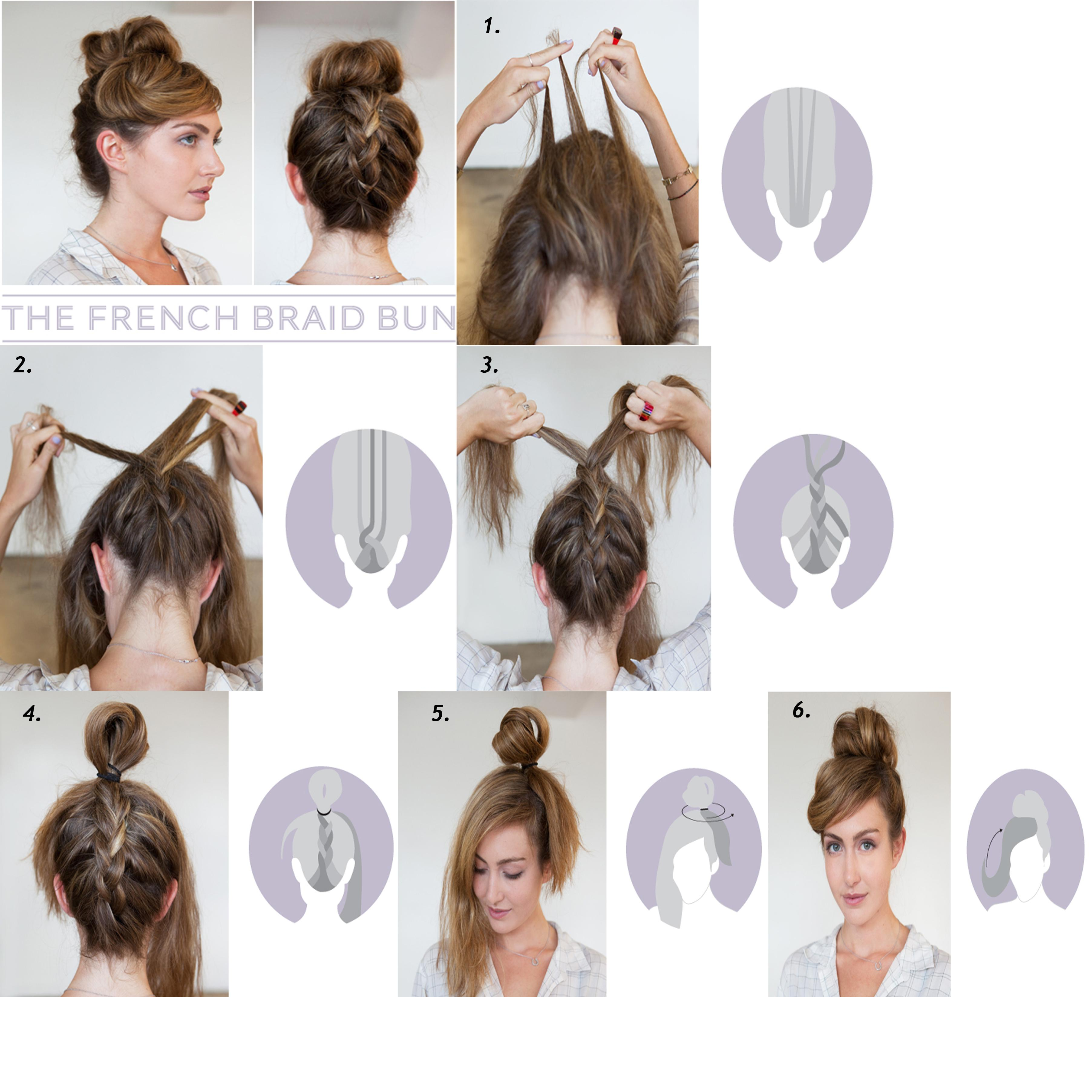 awesome do it yourself hairstyles - braided bun | guff